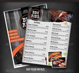 free menu template psd bbq menu template 23 free psd epd documents