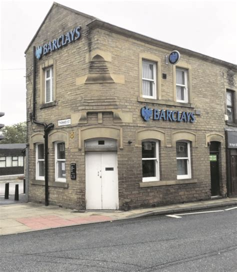 barkely bank locals shocked by planned closure of barclays bank in lees