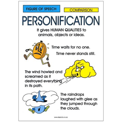 personification picture books personification depicta