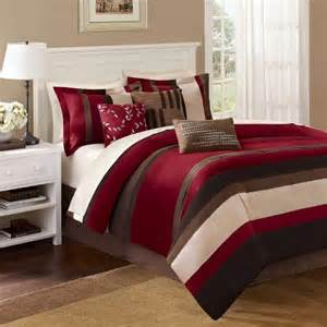 King Size Bed Set Prices Uptown Stripe 7 Comforter Set Target