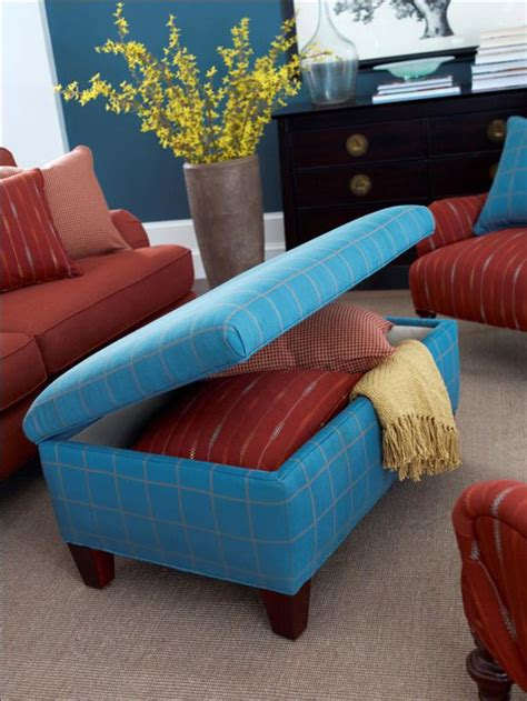 Diy Ottoman Storage Expand Storage With Multipurpose Furniture Diy Home Decor And Decorating Ideas Diy