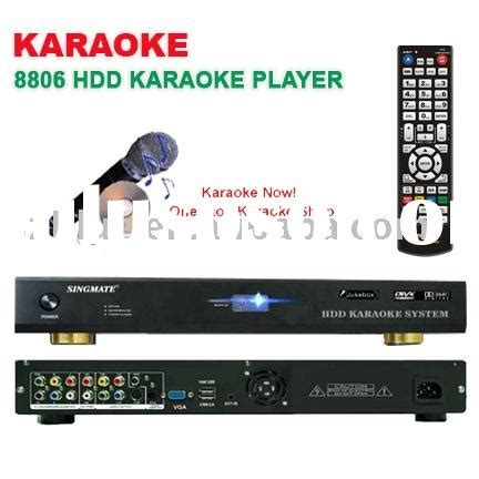 Hardisk Karaoke disk karaoke player disk karaoke player manufacturers in lulusoso page 1
