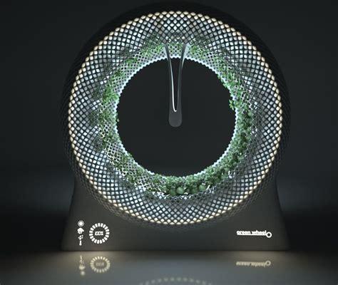 design libero  green wheel rotary garden design