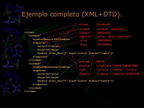 tutorial xml y dtd tutorial xml