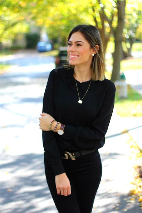 8 Great Looks For Casual Friday by Casual Friday Look Todo Preto Para Loiras