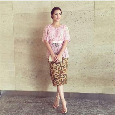Baju Raisa Tunik Dress 50 model baju batik terbaru 2019 kombinasi atasan