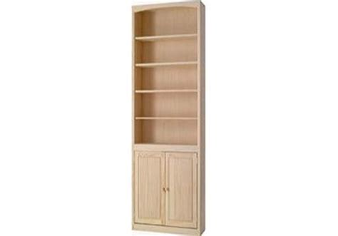 pine 24 inch bookcase with doors howard hill furniture