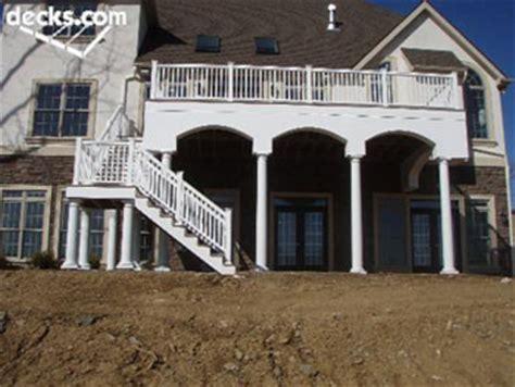 decorative deck columns decks decorative support columns