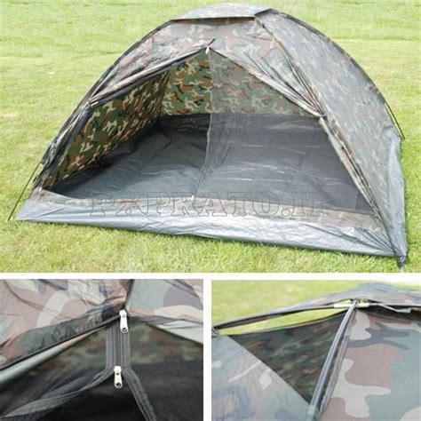 tenda militare tenda militare 4 posti persone igloo mimetica woodland