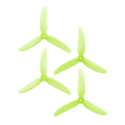 Hq Propeller 3x4x3 V1s Light hqprop 5x4 3x3 v1s durable polycarbonate pc props light green uk