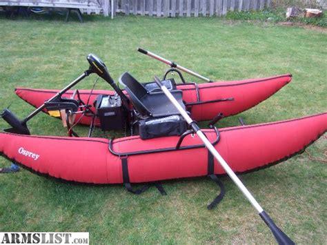 trolling motor for pontoon boat armslist for sale trade 9 foot osprey pontoon w batt