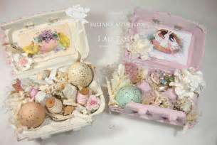 shabbychicjcouture shabby chic easter egg boxes