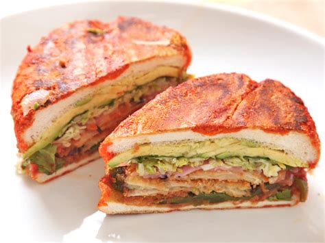 Pastel Vegetarian the vegan experience two great mexican tortas serious eats