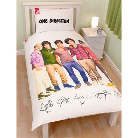 one direction bedding one direction duvet cover sets single double sizes