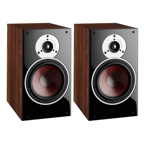 dali zensor 3 bookshelf speakers pair light walnut