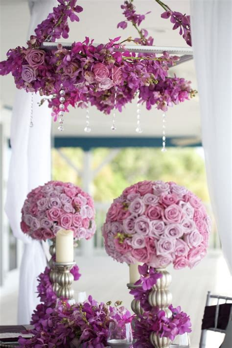bride  dream romantic purple theme wedding