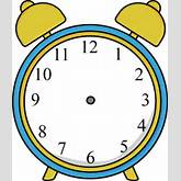 Alarm Clock without Hands Clip Art - Alarm Clock without Hands Image