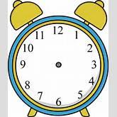 ... Hands Clip Art - Alarm Clock without Hands Image Clock Hands Clip Art