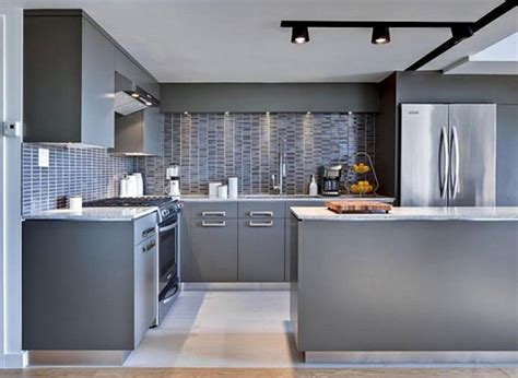 Minimalist Kitchen Design For Apartments Kitchen Amazing Minimalist Kitchen Design Ideas For Apartments Grey Stainless