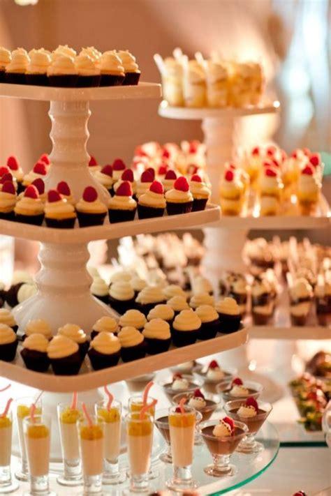 diy mini dessert bar weddingbee