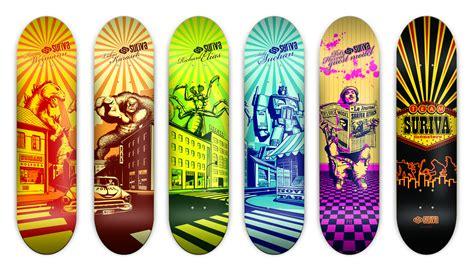 skate deck suriva skateboarding