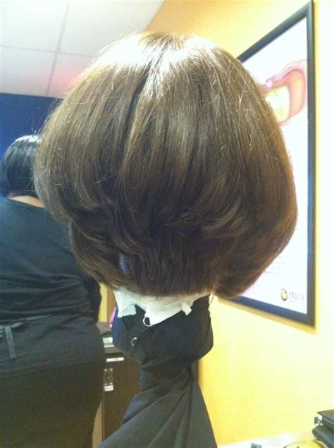 what is a 0 degree haircut the bob haircut with a 45 degree stack in the back a s m