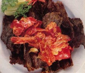 Dendeng Balado Cabe Merah 500 Gram 1 2 Kg resep dendeng daging balado padang resep makanan praktis