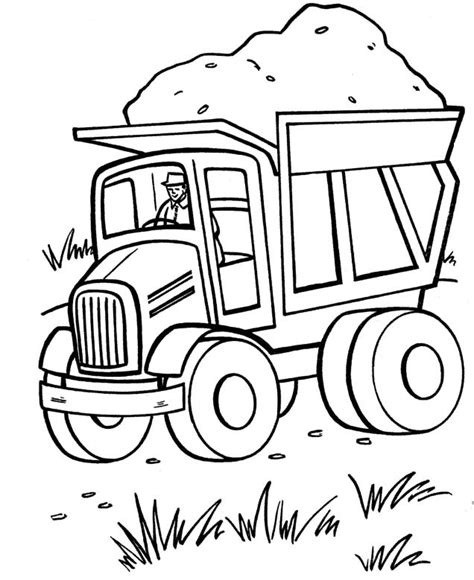 Tonka Truck Coloring Pages Page 1 Tonka Truck Coloring Tonka Truck Coloring Pages