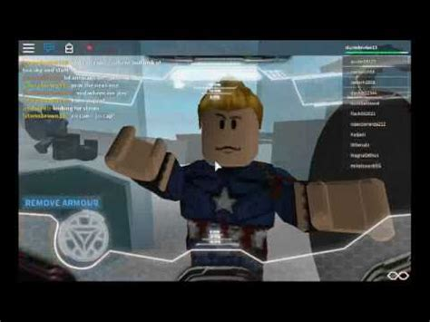 captain america civil war roblox iron man captain
