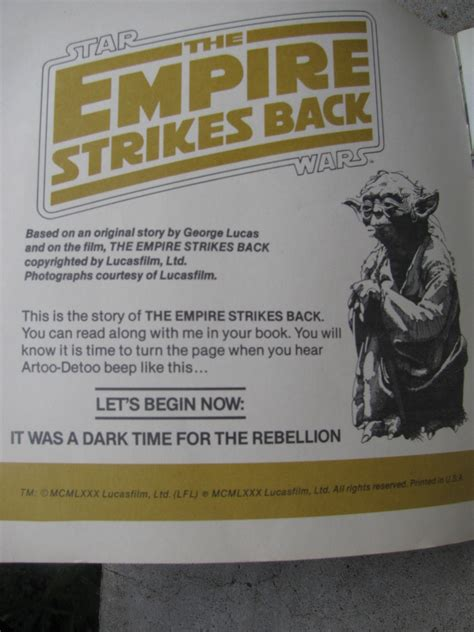 5 minute wars stories strike back books wars the empire strikes back book and record