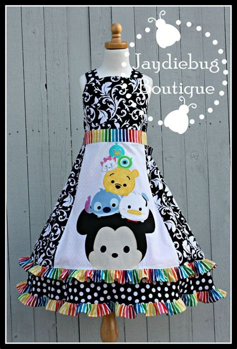 G Dress Kid Tsum Tsum Tsum Tsum Tsum Tsum Dresses And Aprons