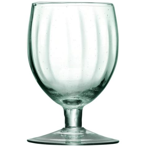 Rexco 50 350ml Rexco 25 350ml 1 lsa recycled wine glasses set 350ml 4 per pack from ocado