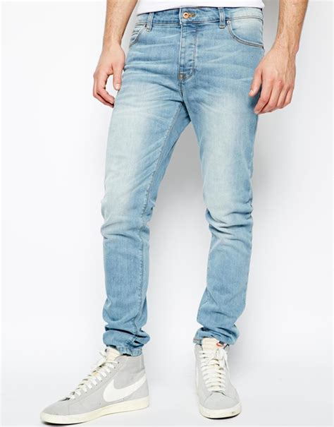 light blue jeans boys asos brand skinny jeans in light wash where to buy how