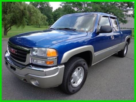 how do i learn about cars 2003 gmc sierra 2500 engine control sell used 2003 gmc sierra 1500 sle 4x4 ext cab z71 v 8 off road clean carfax no reserve in