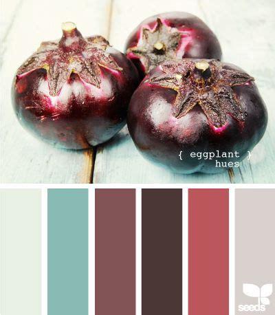 eggplants hue and colors on