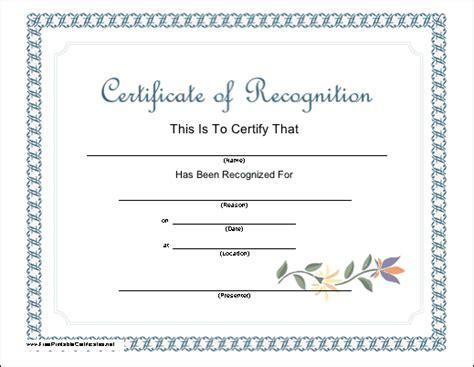 blank volunteer certificate myideasbedroom com