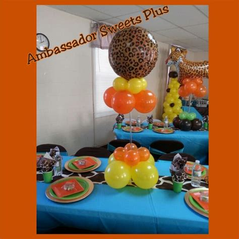Jungle Theme Baby Shower Balloons by 72 Best Images About Tema Safari On Jungle