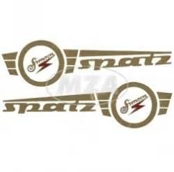 Aufkleber Moped Star by Satz Tankaufkleber F 252 R Simson Spatz Online Shop