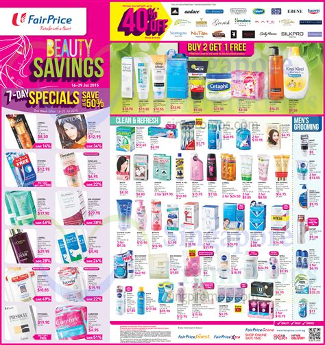 Recycled Makeup Personality Grooming by Fairprice Savings Household Pest Busters More