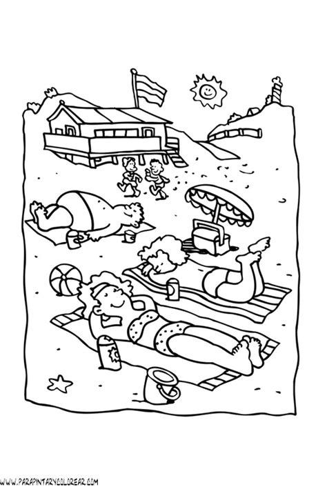 imagenes para colorear verano el verano dibujos para colorear imagui