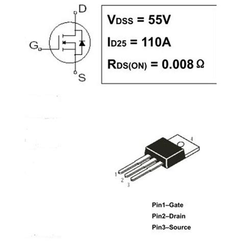 transistor mosfet que es 2 x irf3205 transistor n mosfet 55v 110a 200w to220 ebay
