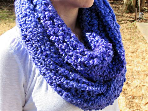 homespun yarn scarf pattern knit homespun thick and infinity scarf pattern for the