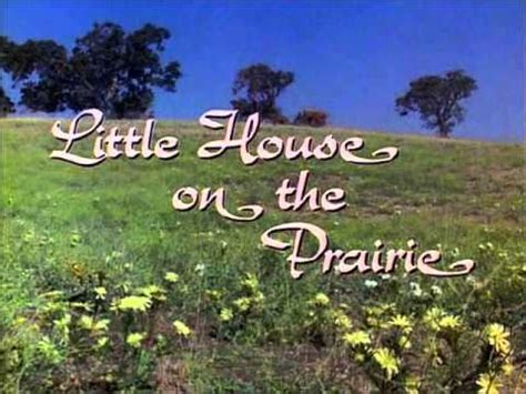 Little Houses Song | little house on the prairie theme song youtube