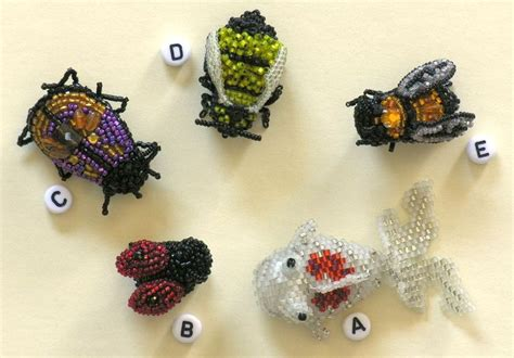 bead critters 30 best critters creatures images on