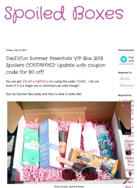 Just Fab Cards And Gifts Promo Code - 17 best images about fab fit fun box on pinterest seasons subscription boxes and