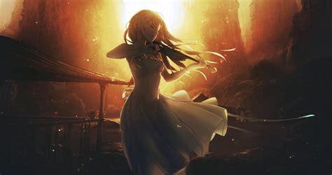 Anime Girls Anime Sunset Shigatsu Wa Kimi No Uso | anime girls anime sunset violin shigatsu wa kimi