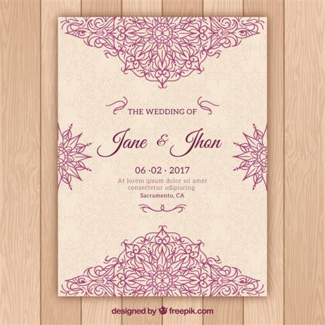 Wedding Card Freepik by Wedding Invitation Vectors Photos And Psd Files Free