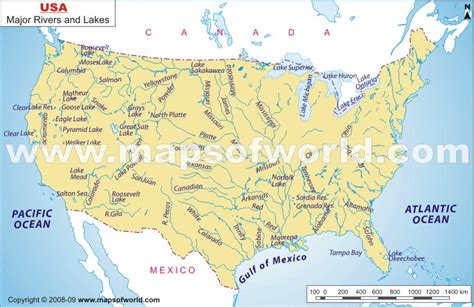 united states map showing mississippi river river maps of united states cruise guide