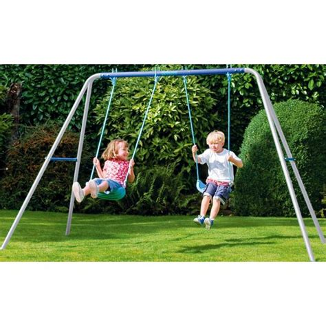buy swing set buy chad valley double swing set at argos co uk your