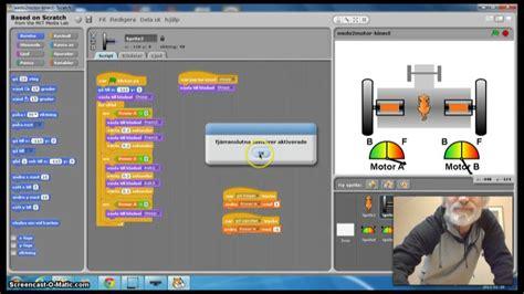 tutorial scratch y lego wedo control 2 motor lego wedo with kinect and scratch youtube